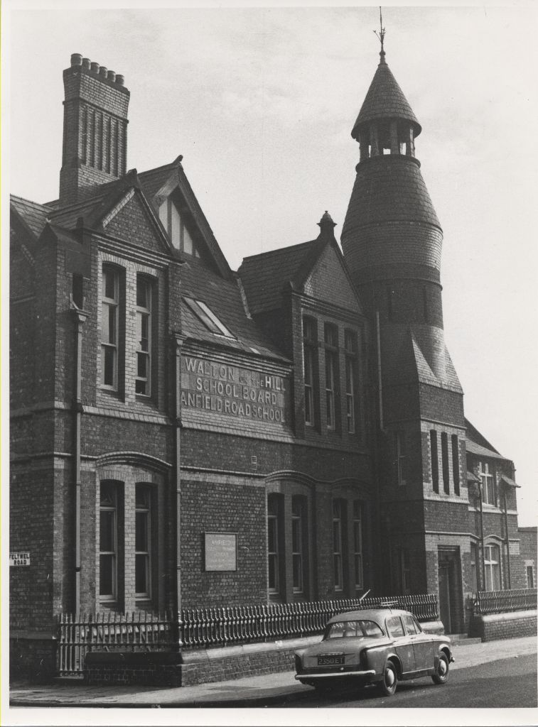 ANFIELD COUNTY PRIMARY SCHOOL 1972