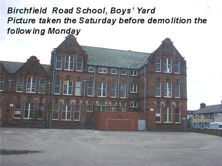 Birchfield Road School Boys' Yard