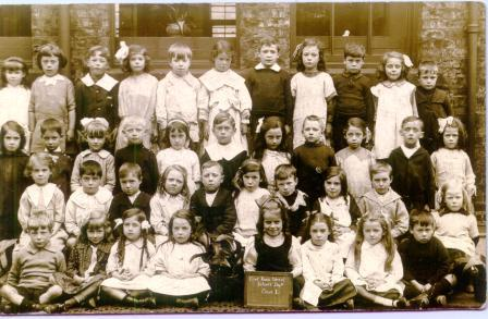 Clint Road School Girls Infants Dept Class 1