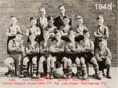 Stockton Wood School football team